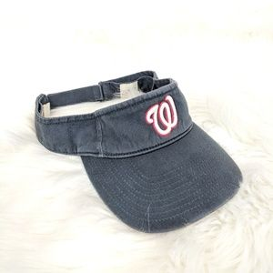 feb758c423048 Forty Seven Accessories - Washington Nationals Embroidered Forty Seven Visor